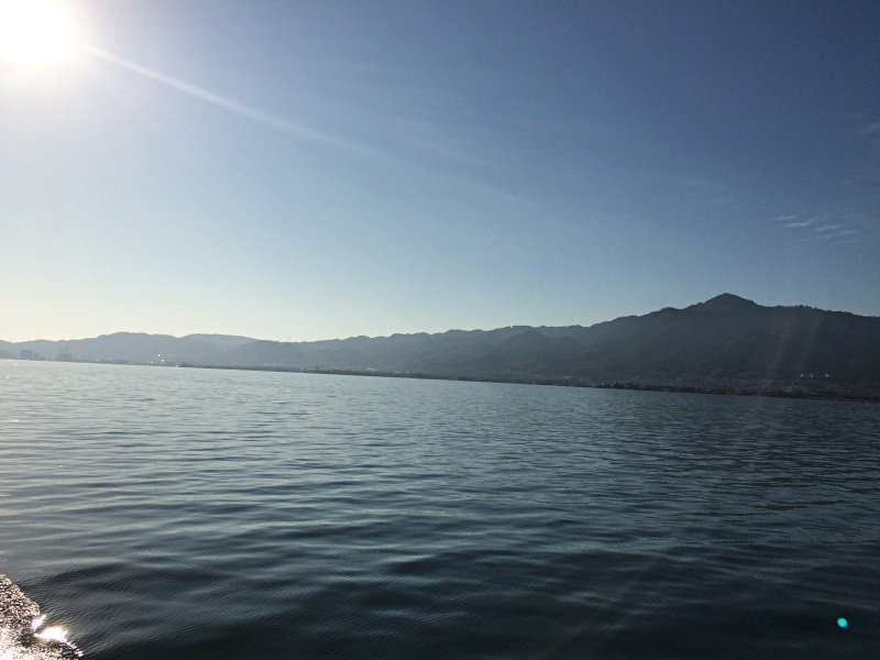 南湖遊覧ボート